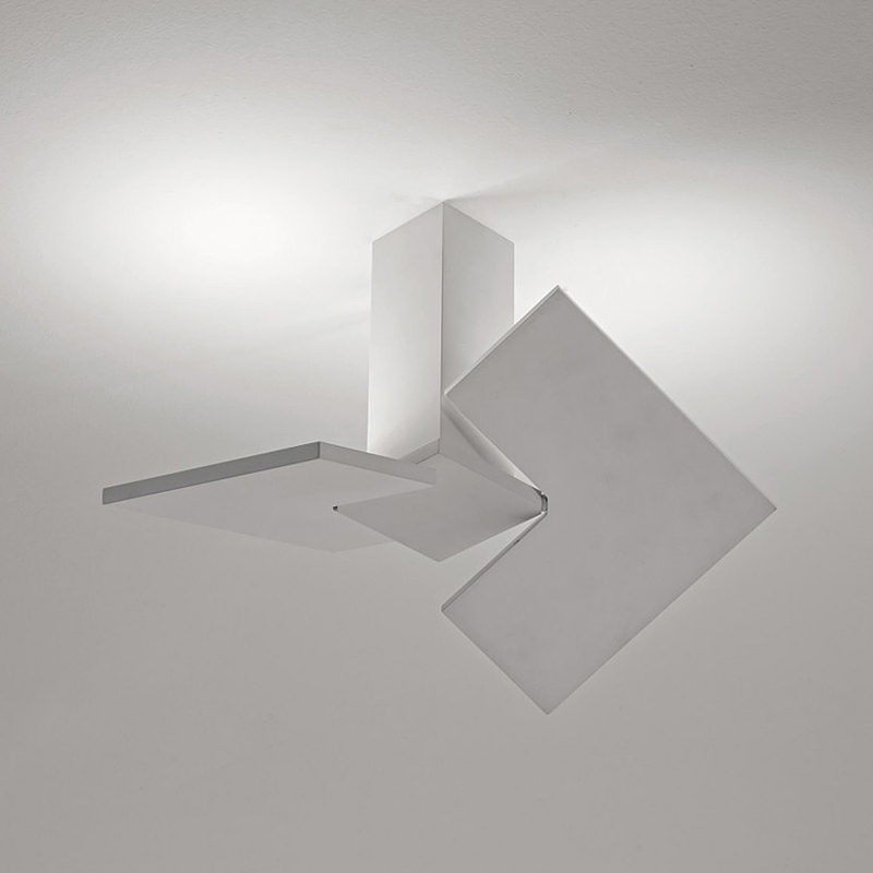Roof Lighting Concept In Basic Form: Puzzle Twist Ceiling Light