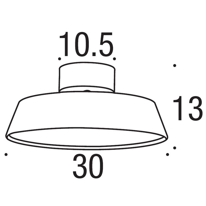 alba ceiling lamp