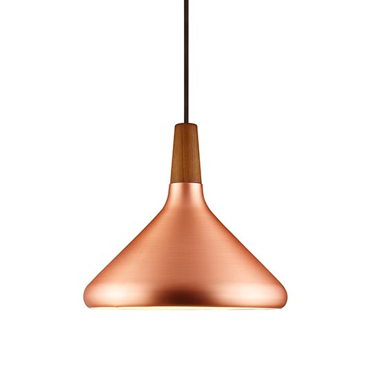 Float 27 copper pendant view more