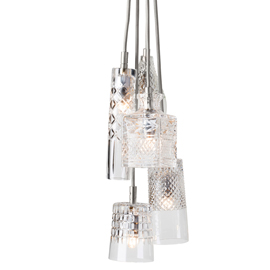 Crystal Pendant 5-Light